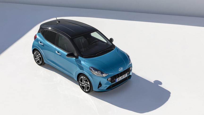 Helt nya Hyundai i10. En liten bil som gör stort intryck.