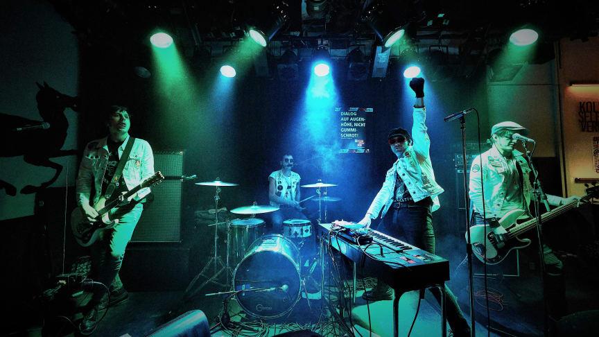THE SCANERS: Alien 'Gonzo-Punks' Plot Second Album Invasion, Drop New 'Galactic' Track