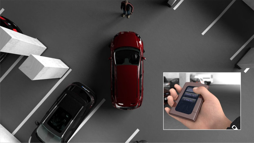 FORD FUTURES - 2 - FULLY ASSISTED PARKING AID