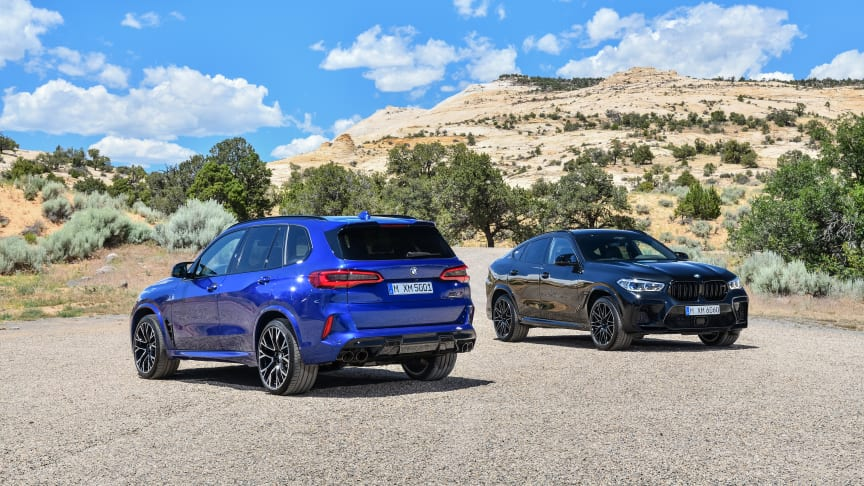 BMW X5 M Competition og BMW X6 M Competition