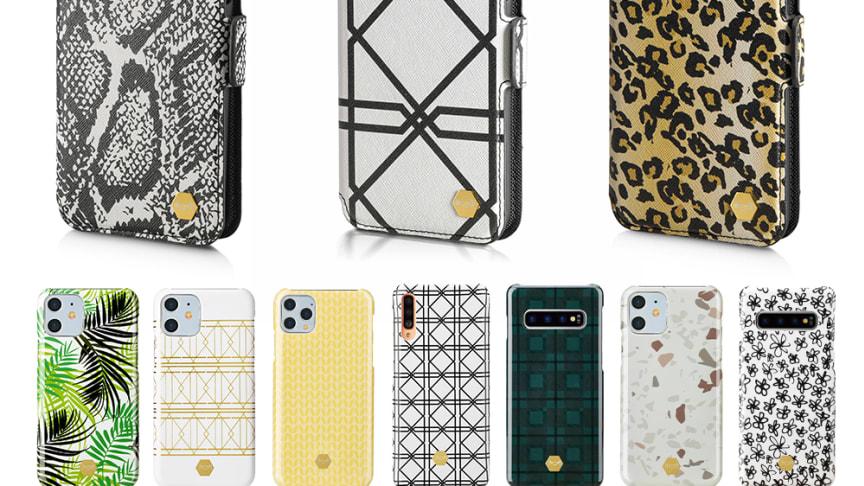 NetOnNet lanserar en helt ny kollektion mobilskal och mobilväskor, anpassade för den trendmedvetna kunden.