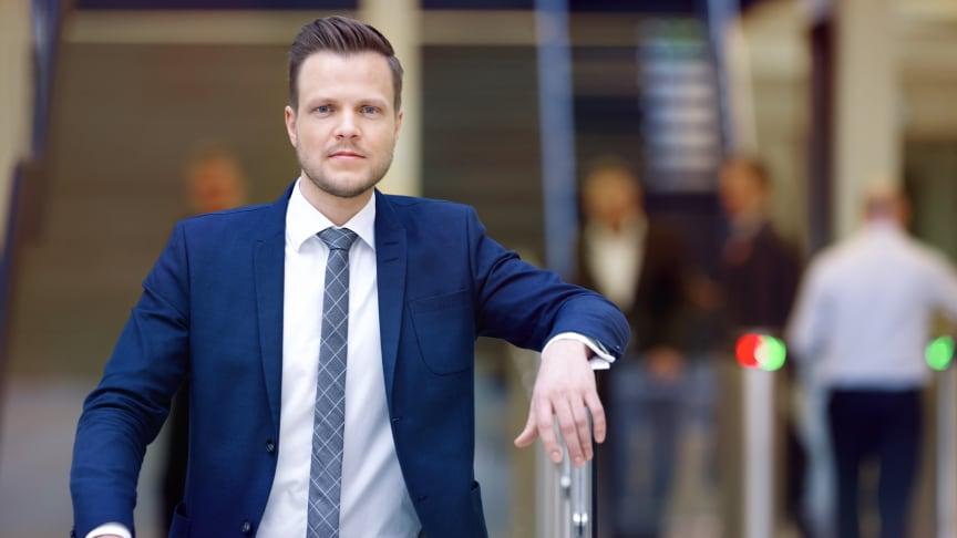 Harald Martens Holm, bærekraftsekspert i Storebrand