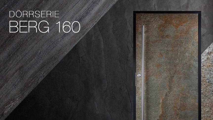 Ytterdörrar med äkta sten - BERG 160