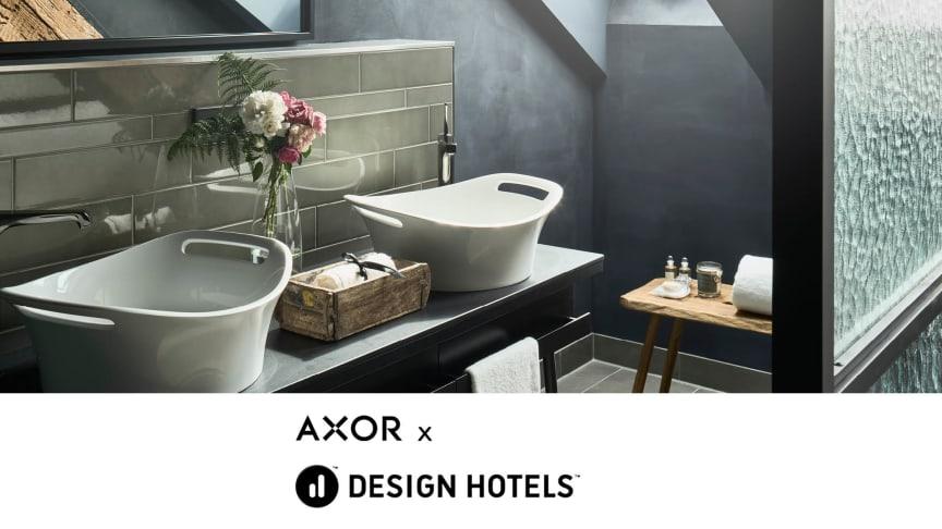 AXOR har blivit officiell blandarleverantör for Design Hotels™.