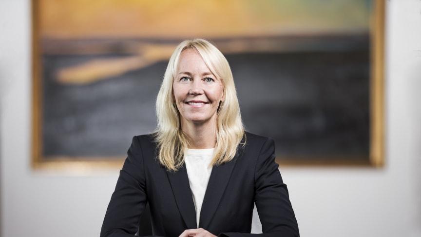 Kathrine Löfberg received the prestigious award during a ceremony at Grand Hôtel in Stockholm, Sweden, on 6 December.
