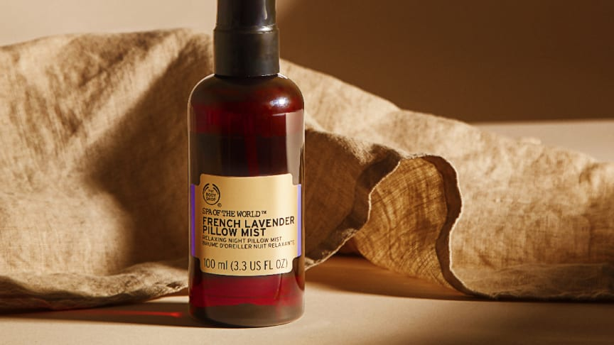 The Body Shop lanserar en lavendeldoftande Pillow Mist