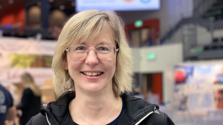 Monica Pettersson, projektledare Nolia Karriär som inleder sin mässturné i Luleå tisdag 11 februari.