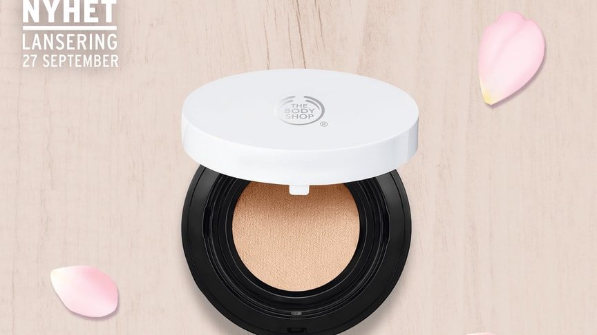 The Body Shop lanserar vegansk Cushion Foundation