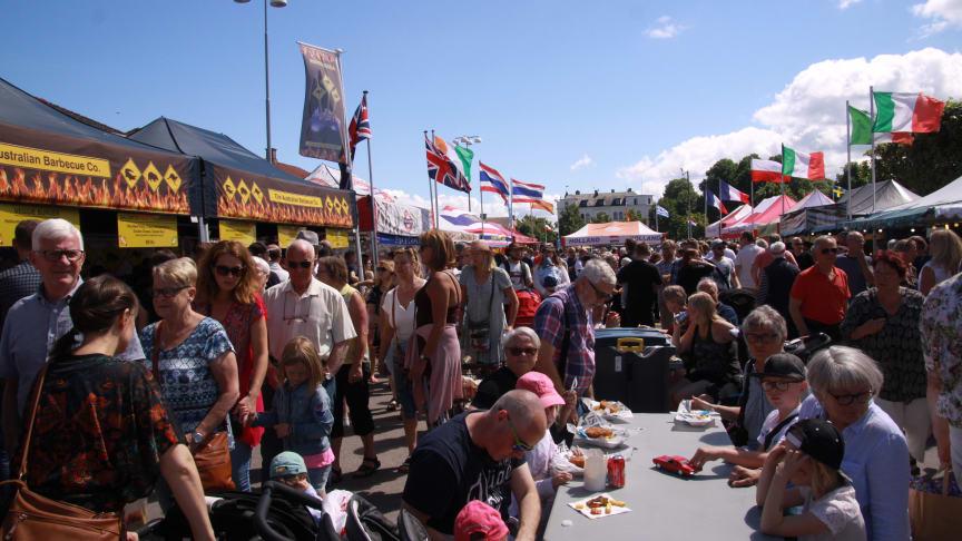 International Food Festival kommer till Lidköping sommaren 2019