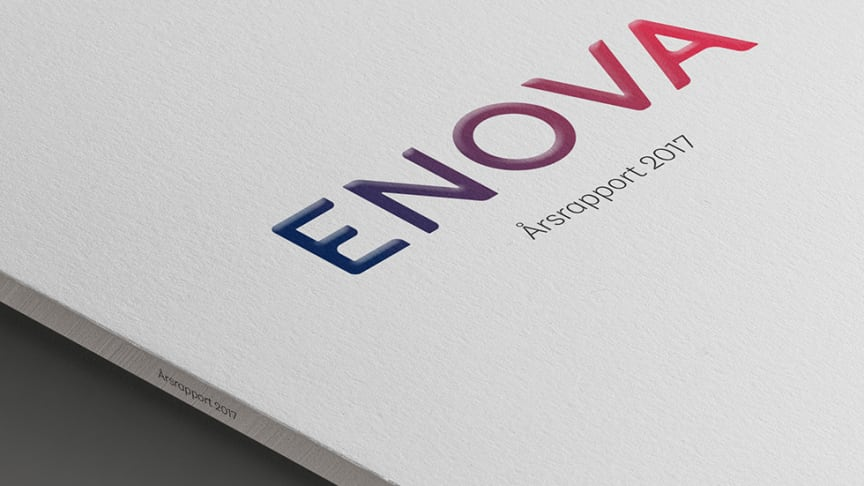 Enovas årsrapport for 2017 er klar.