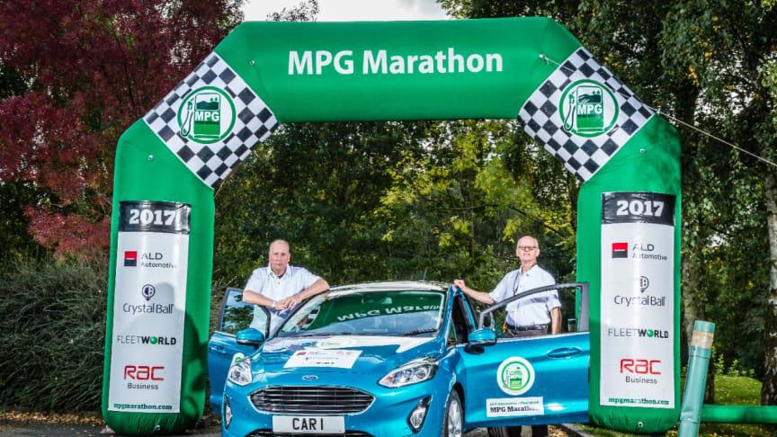 """V britském """"MPG Marathonu"""" bodovala Fiesta se zážehovým motorem 1.0 EcoBoost i vznětovým agregátem 1.5 TDCi"""
