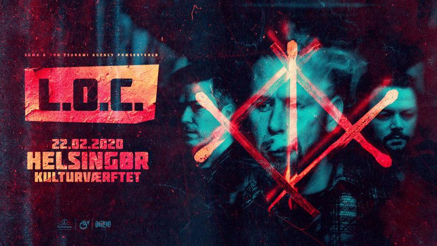 L.O.C. giver koncert på Kulturværftet 22. februar