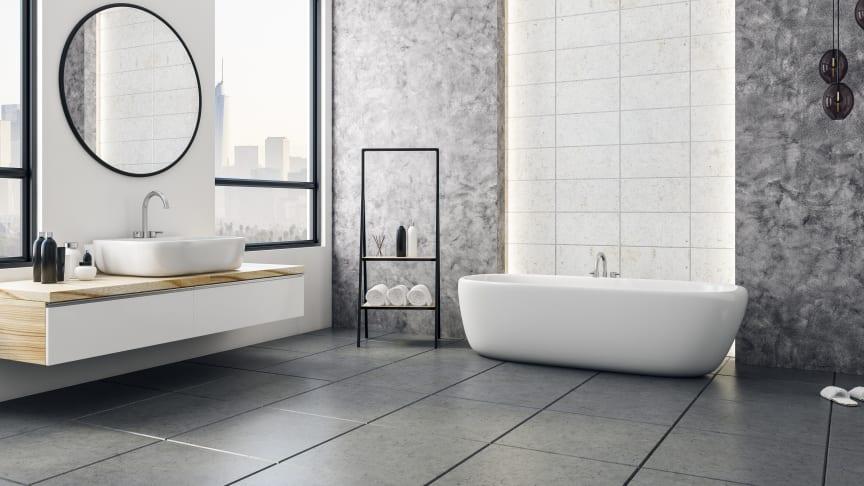 Drygt varannan bostadsköpare är beredd att betala extra för ett nyrenoverat badrum.