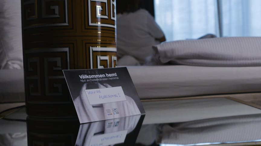 Nordic Choice Hotels tilbyr lojalitetsmedlemmer hotelltjenester hjemme. I første omgang testes prosjektet ut i Stockholm.