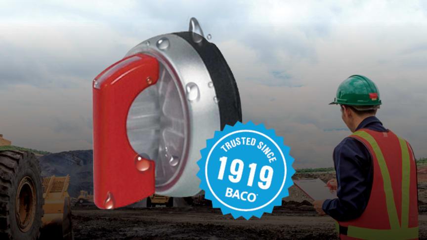 Baco strömställare med kapslingsklass IP69K som standard
