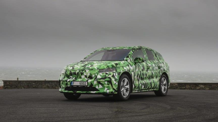 ŠKODA afslører nyt om elbilen ENYAQ iV