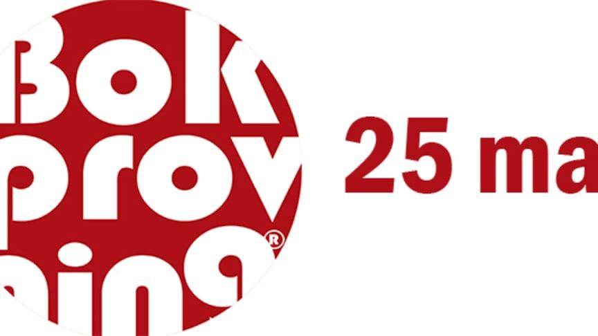 Programmet till årets Bokprovning 2020 är klart!