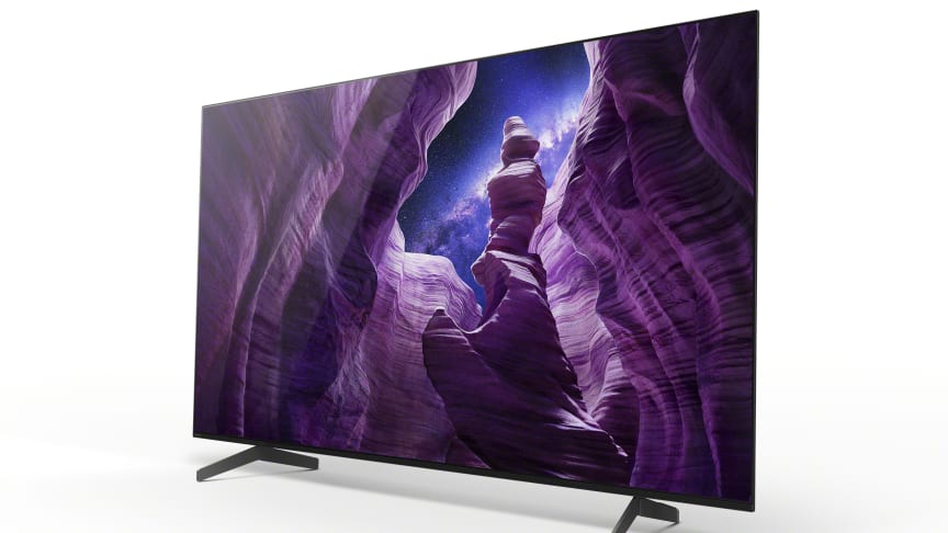 Les nouveaux téléviseurs Sony A8 OLED 4K HDR sont désormais disponibles