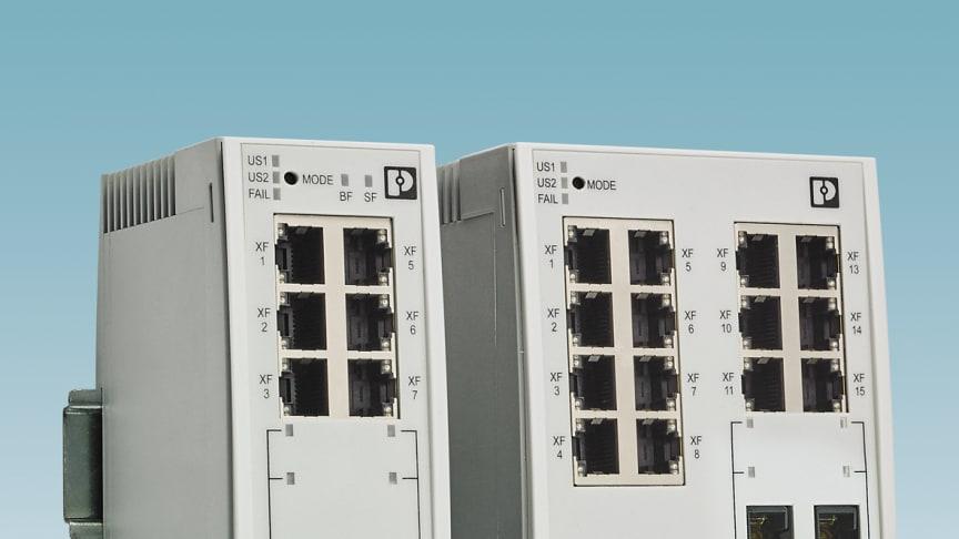 2000-serien av Switchar är IO-Devices för Profinet