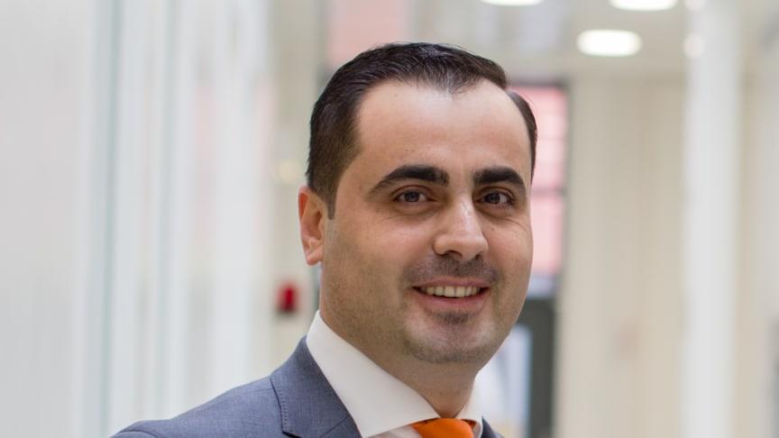 Bild: Dr Mamoun Taher, grundare och vd på Graphmatech