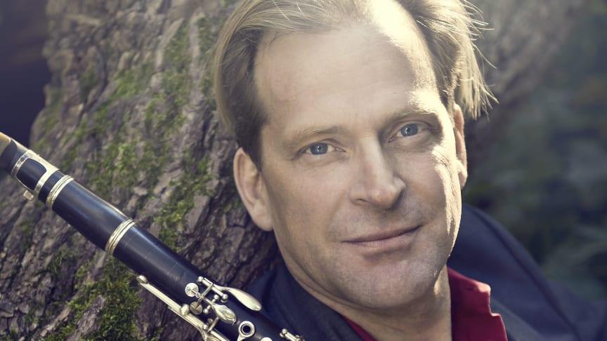 Staffan Mårtensson, klarinettist och nu också dirigent.