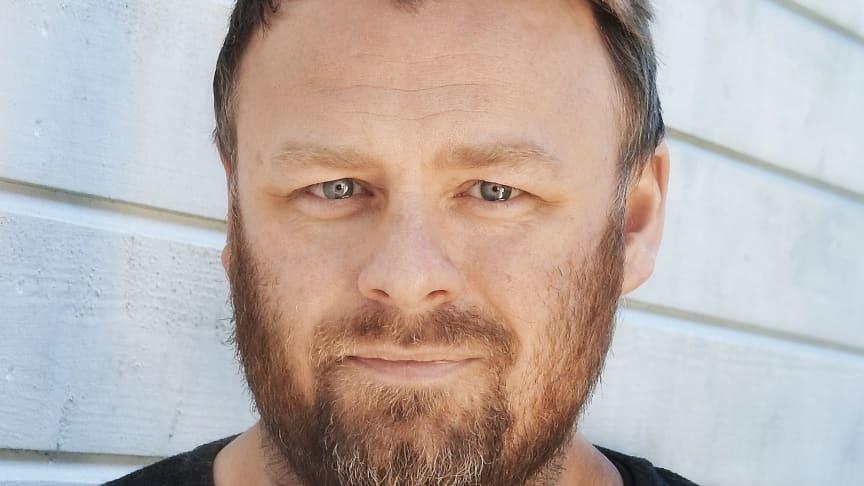 Tobias Wixtröm, chefredaktör Hänt-gruppen