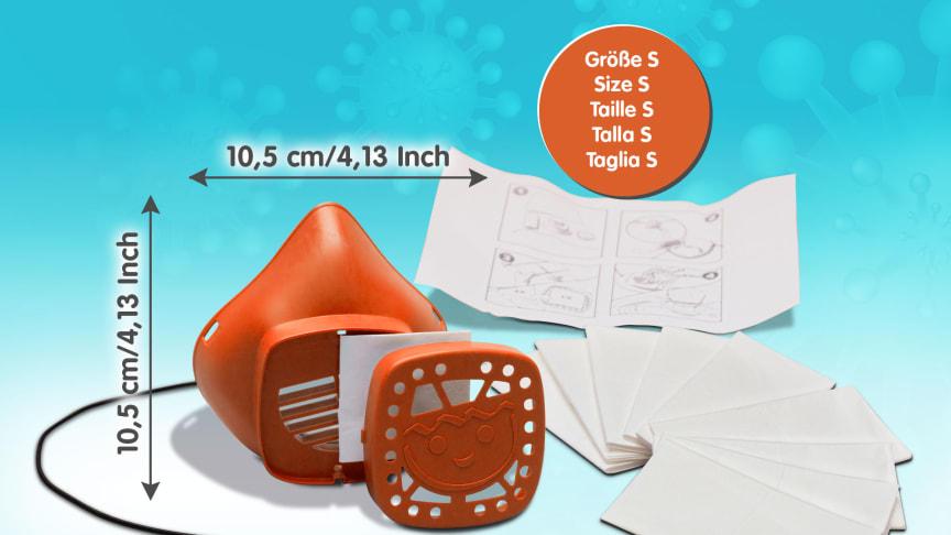 PLAYMOBIL Nase-Mund-Maske in Größe S