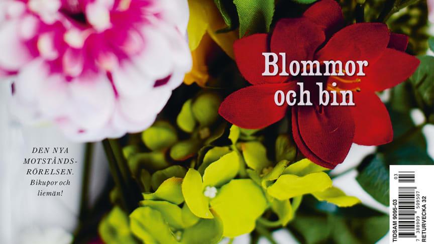 Hemslöjd om blommor och bin