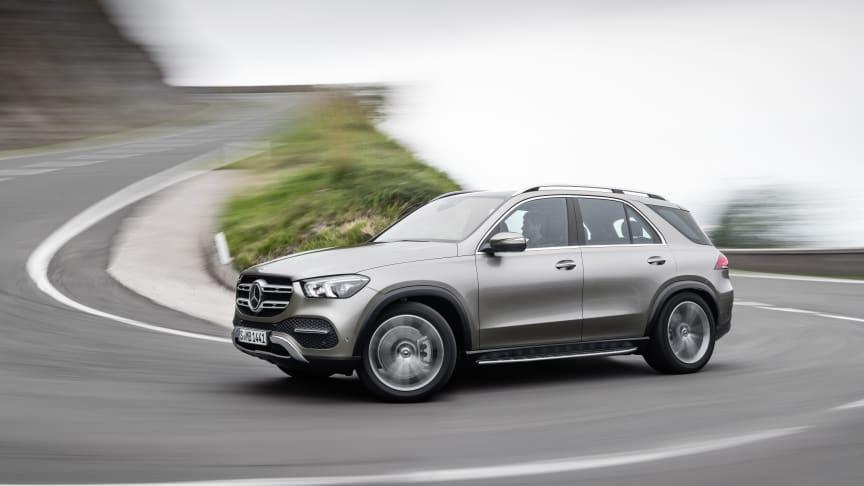Den ny Mercedes-Benz GLE byder på gennemført design samt overlegen komfort og sikkerhed