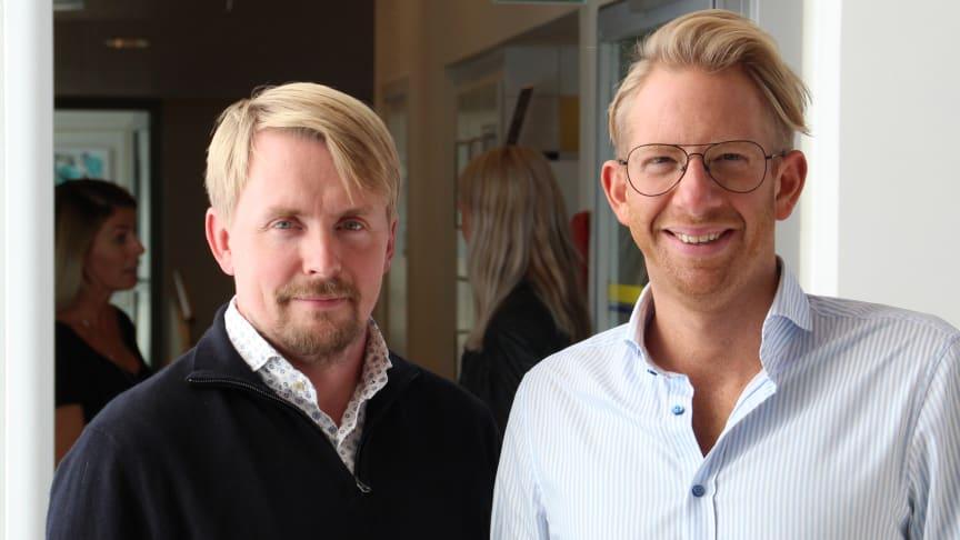 Andreas Ödman och Erik Douglasson berättar om hur vi kan skapa en effektivare löneprocess med hjälp av robotisering.