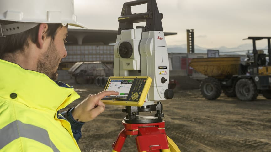 Leica iCR80 totalstation