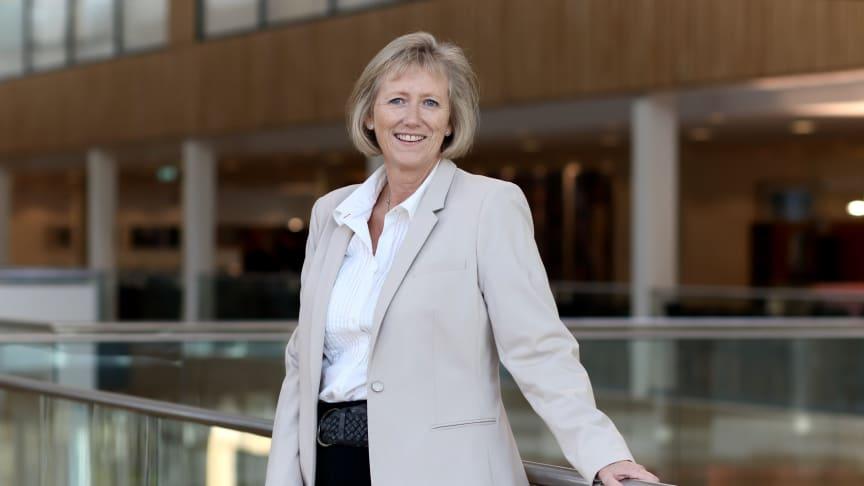 SETTER NED FASTRENTEN: Konserndirektør for personmarked i Storebrand, Heidi Skaaret.