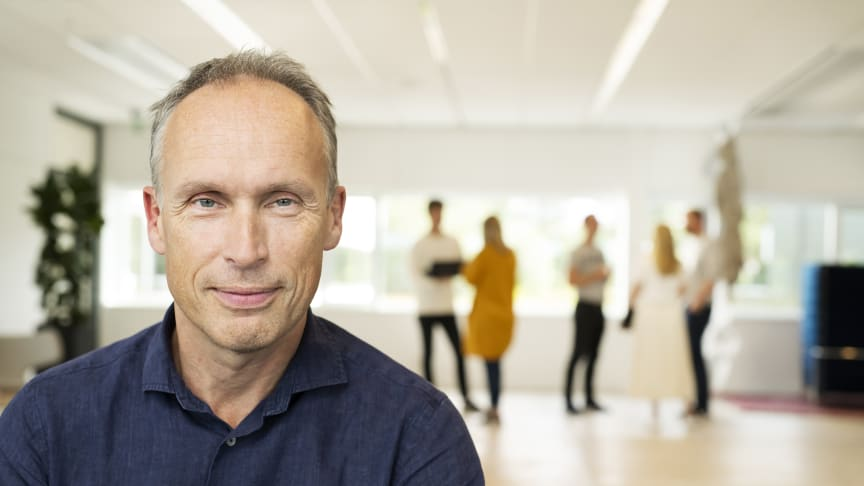 Niklas Hedin, koncern-vd