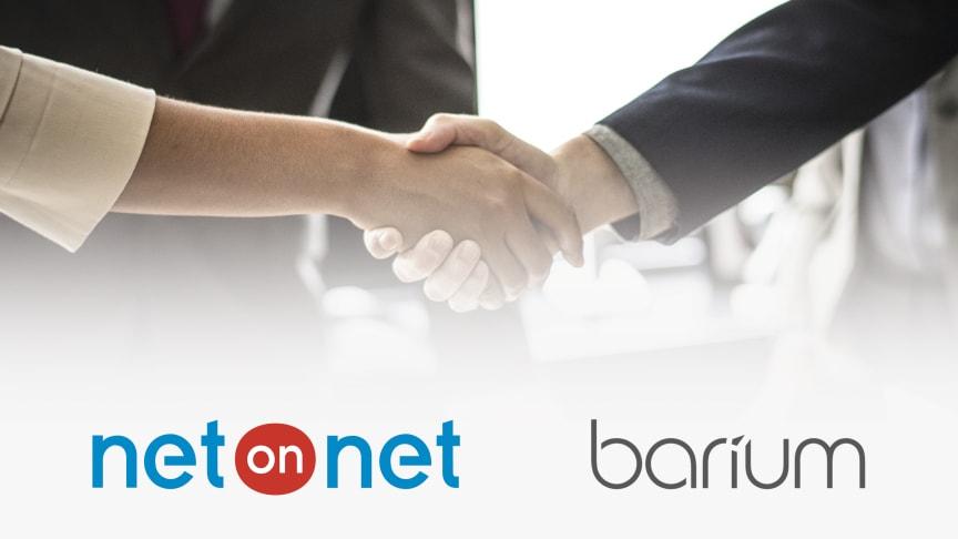 NetOnNet väljer Barium som partner för effektivare processer