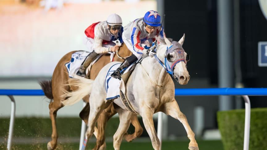 Svensk häst vann miljonlopp i Dubai