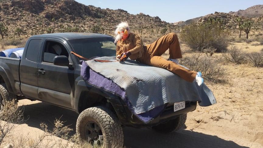 "From the video with Tori Wrånes ""Desert Troll-technique"" in The National Park Joshua Tree, USA, June 2016. Photo: Skylar Haskard."
