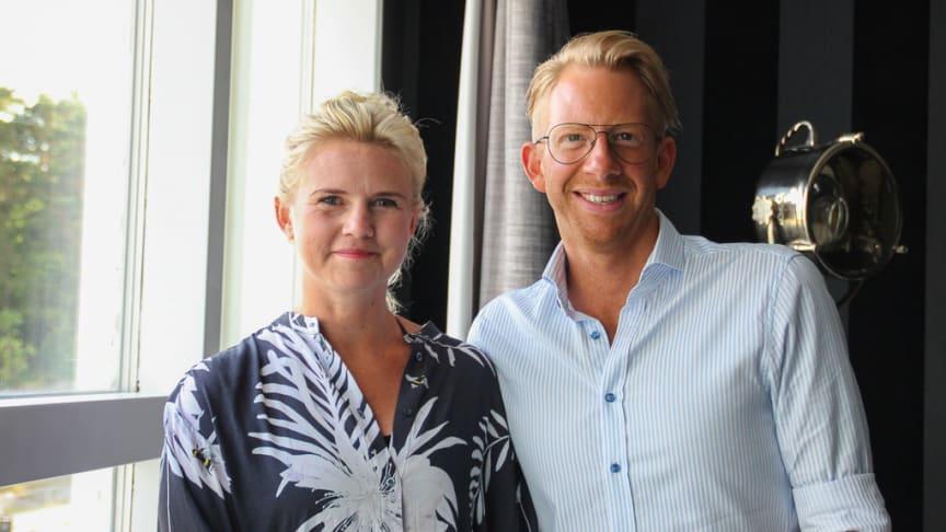 Som arbetsgivare har man ansvar för att se till att den kommunikationskanal man använder för att distribuera lönespecifikationerna är säker, berättar Hogias HR-experter Sara Janson och Erik Douglasson