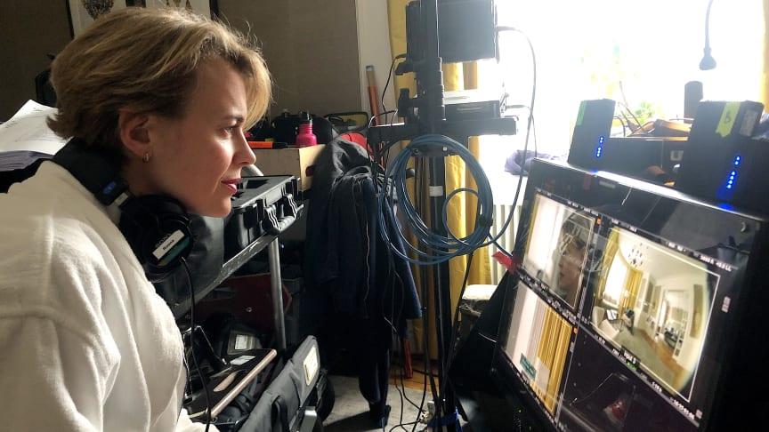Josephine Bornebusch jobber med sin tredje Viaplay-serie på kort tid. FOTO: Viaplay