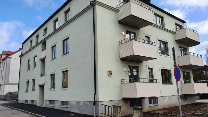 Det anrika huset på Salängsgatan 14 har genomgått en totalrenovering.