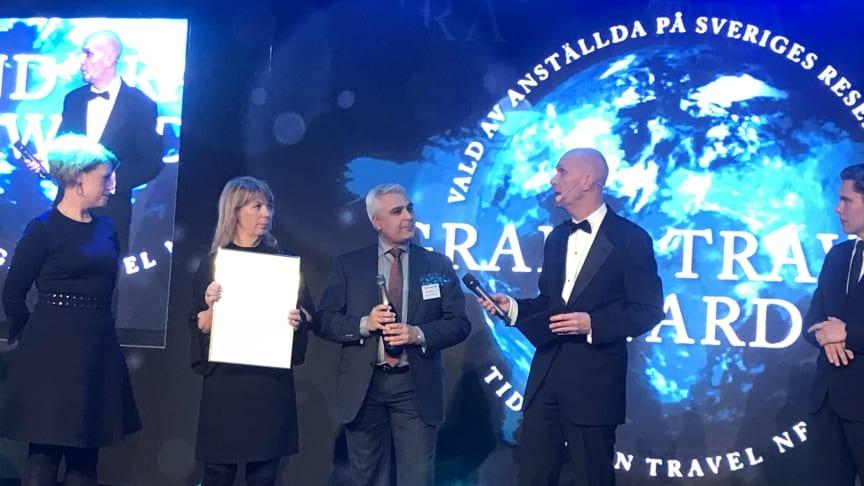 Dubbelvinst för Nordic Choice Hotels i Grand Travel Award