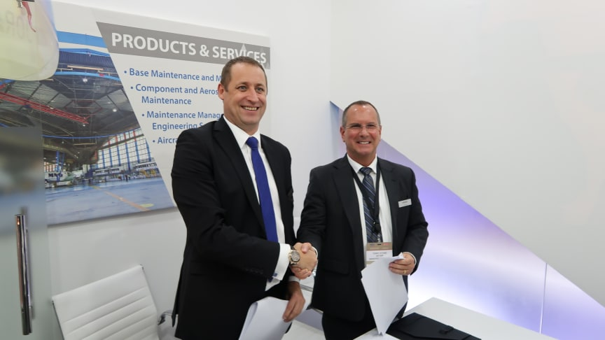 SATAIR AND JORAMCO SIGN CONTRACT AT MRO MIDDLE EAST