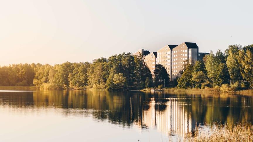 Vallen, Växjö. Fotograf: Jonas Ljungdahl