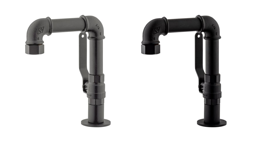 Årets stora nyhet i serien MORA GARDEN är den handtillverkade tvättställsblandaren.