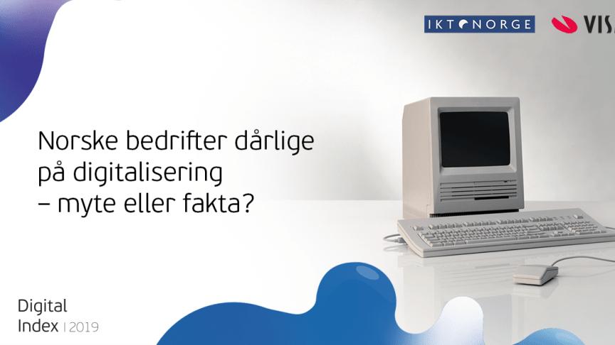 Presseinvitasjon: IKT-Norge og Visma inviterer til digitaliseringsdebatt tirsdag 19. november