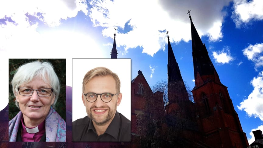 Måndagen den 29 maj hålls en unik dialogpredikan i Uppsala domkyrka. Foto: Mikael Stjernberg.