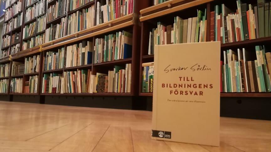 2020-01-13 Boksamtal: Till bildningens försvar. Den svåra konsten att veta tillsammans (Foto: Ylva Nordin)