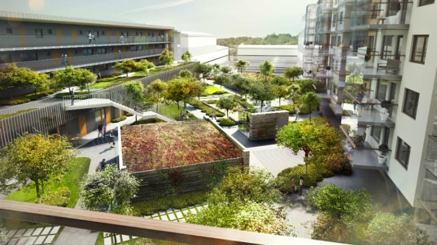 Invigning av Mölndals Galleria – Riksbyggen på plats!