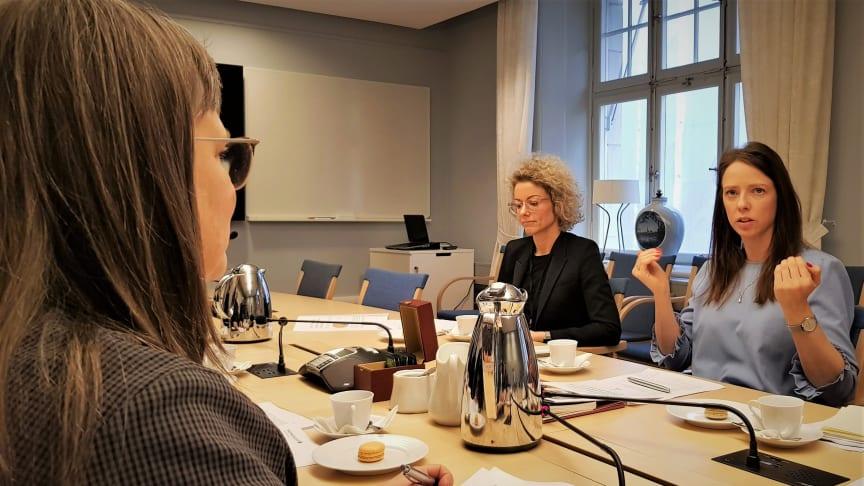 Samtal med Åsa Lindhagen