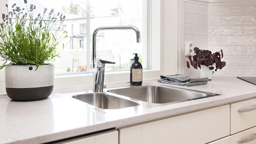 Et lille køkken kna også rumme stor funktion.