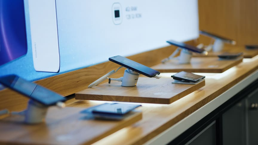 Huawei otti tammikuussa 2020 kärkipaikan sekä kuluttaja- että yritysmyynnin TOP 10:ssä.